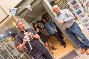 Charity day at Gallery 12 Eccleshall on 14th May 2016
