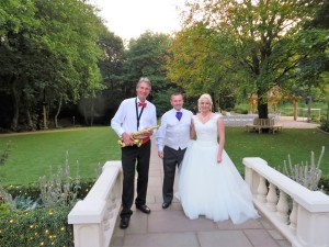 With Craig and Gemma at Moddershall Oaks - 19th Sept  2015