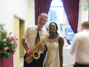 With Esther the bride at The White Eagle, Stafford on 30.04.16